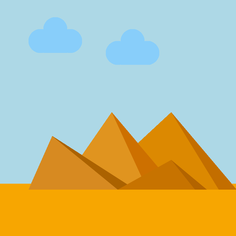 Pyramids of Giza 1